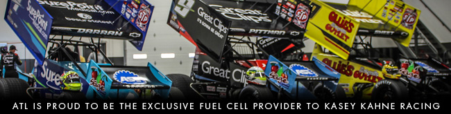 ATL Fuel Bladders can be found in every Kasey Kahne Racing Sprint Car!
