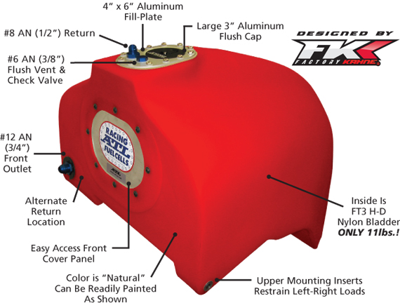Racing Safety Fuel Cell Bladder Tanks