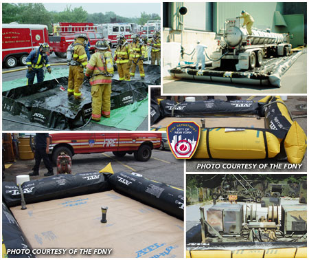 ATL DECON, HazMat, Containment Bladders, Berms and Dikes