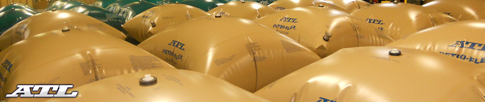 ATL Flexible Bladder Tanks for Fuel, Water, Fire-Foam and Effluents are Always In-Stock and Ready to Ship Worldwide!