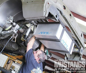 ATL Super Cell Installed in 1988 Ford Mustang GT