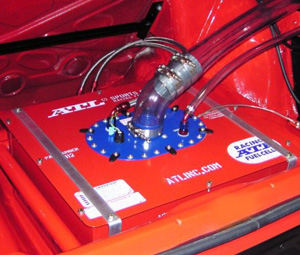 ATL Racing Fuel Cells - 12 Gallon ATL Sports Cell Installed in Audi