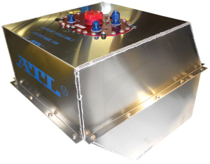 Custom Chassis-Specific Dirt Late Model Fuel Cell by ATL Racing Fuel Cells
