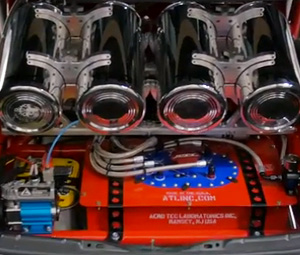 8 Gallon ATL Sports Cell Installed in Toyota Camry Show Car at SEMA 2014