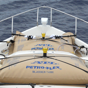 ATL Petro-Flex Fuel Bladders Used for Yacht Delivery