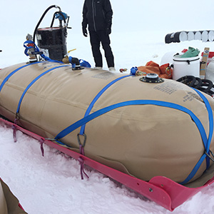 Custom ATL FueLocker Fuel Bladders are So Strong and Durable that they are being used in the Arctic!