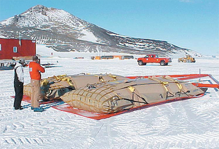 ATL SUPPLIES CRITICAL FUEL TRANSPORT BLADDERS FOR HISTORIC SOUTH POLE TRAVERSE PROJECT